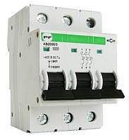 Автоматический выключатель АВ2000 ЕКО 3п 63А, фото 1