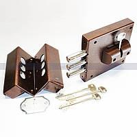 Замок накладной «Cerber» постоянный ключ