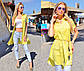 """Летняя женская стильная туника-рубашка 255 """"Штапель Воротничок"""" в расцветках, фото 4"""
