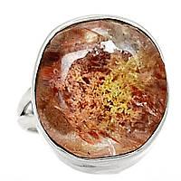 """Серебряное кольцо с лодолитом """"Золотистый мох"""" , размер 17.2  от студии LadyStyle.Biz, фото 1"""