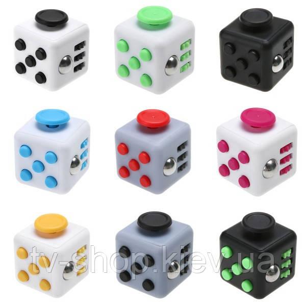 Кубик антистресс Fidget Cube (пластик)