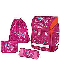 Herlitz Midi Plus Butterfly школьный ранец с наполнением. Коллекция 2017 года