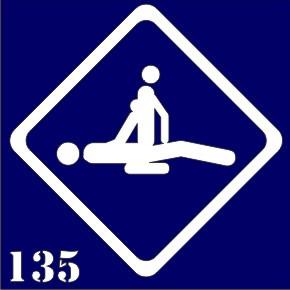 Трафарет для временного тату №135