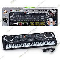 Синтезатор Детский MQ-009FM + микрофон, фото 1