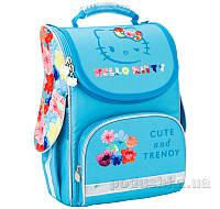 Рюкзак школьный каркасный Kite 501 HK-2 бирюзовый