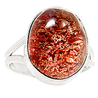 """Серебряное кольцо с лодолитом """"Красное море"""" , размер 19.7  от студии LadyStyle.Biz, фото 1"""