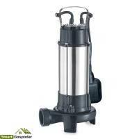 Насос канализационный 1.8кВт Hmax 10м Qmax 400л/мин (с ножом)