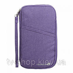 Органайзер для документов с держателем Avia Travel Bag (серый,фиолетовый)
