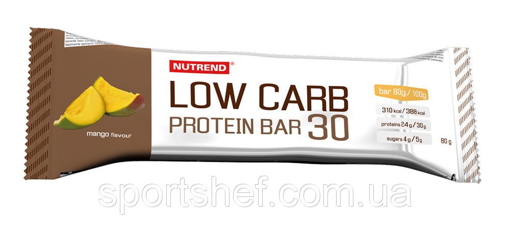 Протеиновые батончики Nutrend Low carb protein bar 30 80g