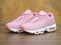 Женские кроссовки в стиле NIKE Air Max 95 OG Pink, розовые, фото 1