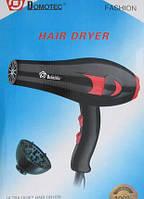 Фен для волос Domotec MS 9105 с насадкой дифузор