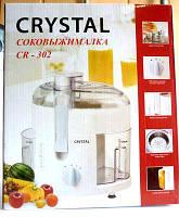 Электрическая соковыжималка Crystal cr-302