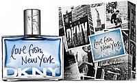 Мужская туалетная вода DKNY Love from New York for Men