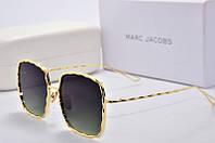 Солнцезащитные очки квадратные Marc Jacobs зеленые линзы, фото 1