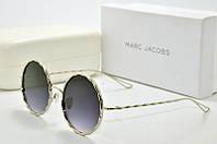 Солнцезащитные очки круглые Marc Jacobs серые, фото 1