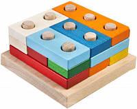 Деревянная игрушка Плашки большие в коробке, Тато, фото 1