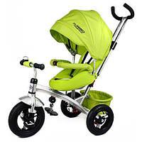 Детский трехколесный велосипед, поворотное сидение