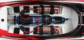 "Катер Traxxas Spartan Brushless 36"" Deep-V RTR 57076-4 Blue, фото 2"