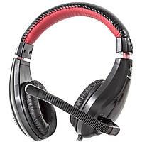 Универсальная гарнитура NUBWO 2000 черная с микрофоном для общения и музыки jack 3.5mm игровая музыкальная