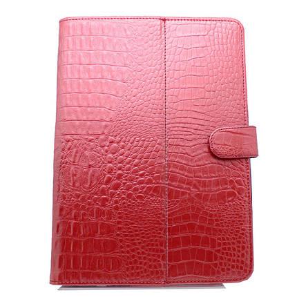 Чехол книжка 8 '' Crocodile (Красный) универсальный 8 дюймов для lenovo samsung xiaomi, фото 2