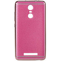 Защитный чехол-накладка для смартфона Xiaomi Note 3 розовый защита бампер телефона смартфона сяоми