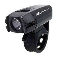 Свет передний Longus XPG400 LED 6 ф-ций, USB, 400lm, черный