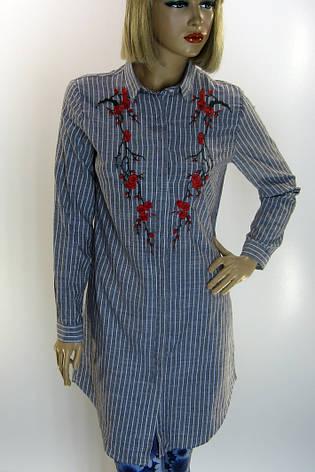 Жіноча туніка з вишивкою Comlex, фото 2