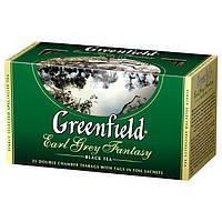 Чай  Greenfield  Earl Grey Fantasy пакетированный 25 пак.