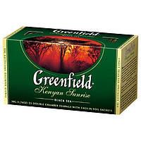 Чай  Greenfield Kenyan Sunrise пакетированный 25 пак.
