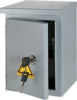 Шкаф e.mbox.stand.n.06.z металлический под 6 модулей герметичый IP54 навесной с замком