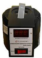 Стабилизатор напряжения Luxeon AVR-500D (350Вт) черный