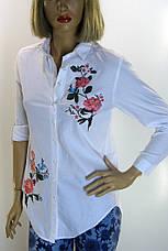 Біла вишита блузка  Comlex, фото 3