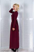 Жіноче бордове плаття Linda