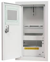 Шкаф e.mbox.stand.n.f1.06.z.e под 1-фазный электронный счетчик+6 модулей навесной с замком