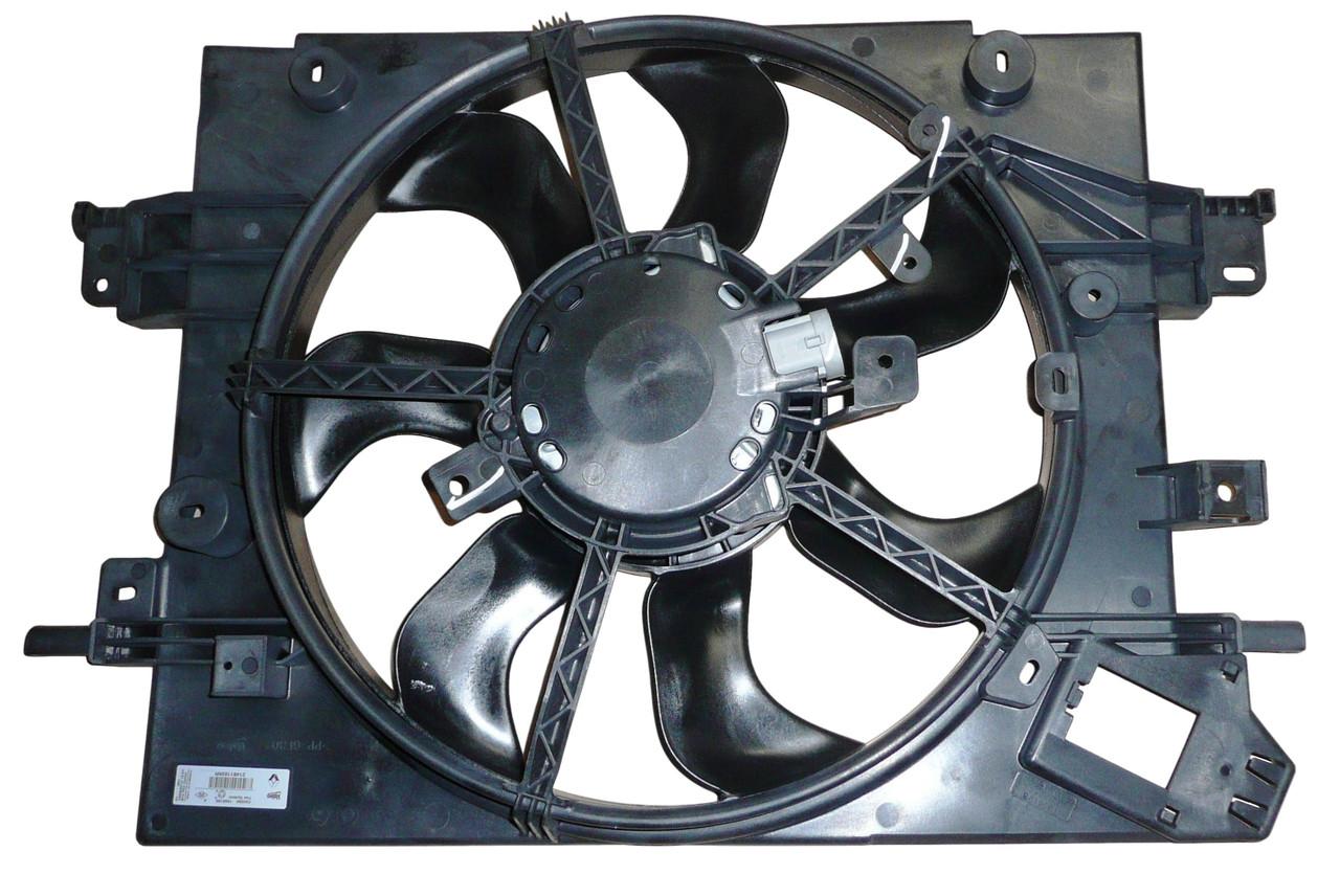 Диффузор в сборе Рено Дастер 1.6 16V