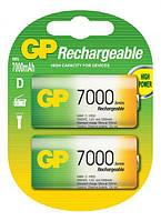 Аккумуляторы GP Rechargeable D 7000mAh NiMH 2шт