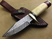 Нож дамасский Клинок ручная работа