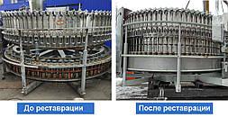 Ремонт и модернизация разливо-укупорочной машины  APV 80/15 (Германия)