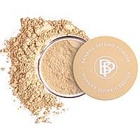 Минеральная рассыпчатая пудра с фиксацией макияжа  Bellapierre Banana Setting Powder