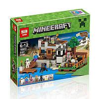 """Конструктор Lepin аналог LEGO Minecraft """"Береговая Цитадель"""" 517 деталей арт. 18013"""