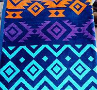 Полотенца пляжные 90*180 велюровые(Индия)