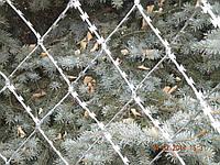 Колючая сетка (плоское заграждение из колючей проволоки) 2х6 - 2,2мм