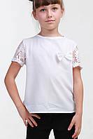 Детская блузка из креп-шифона 015