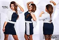 Платье с болеро  ботал арт 2398/512-41