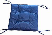 Подушка на стул 40х40 синяя