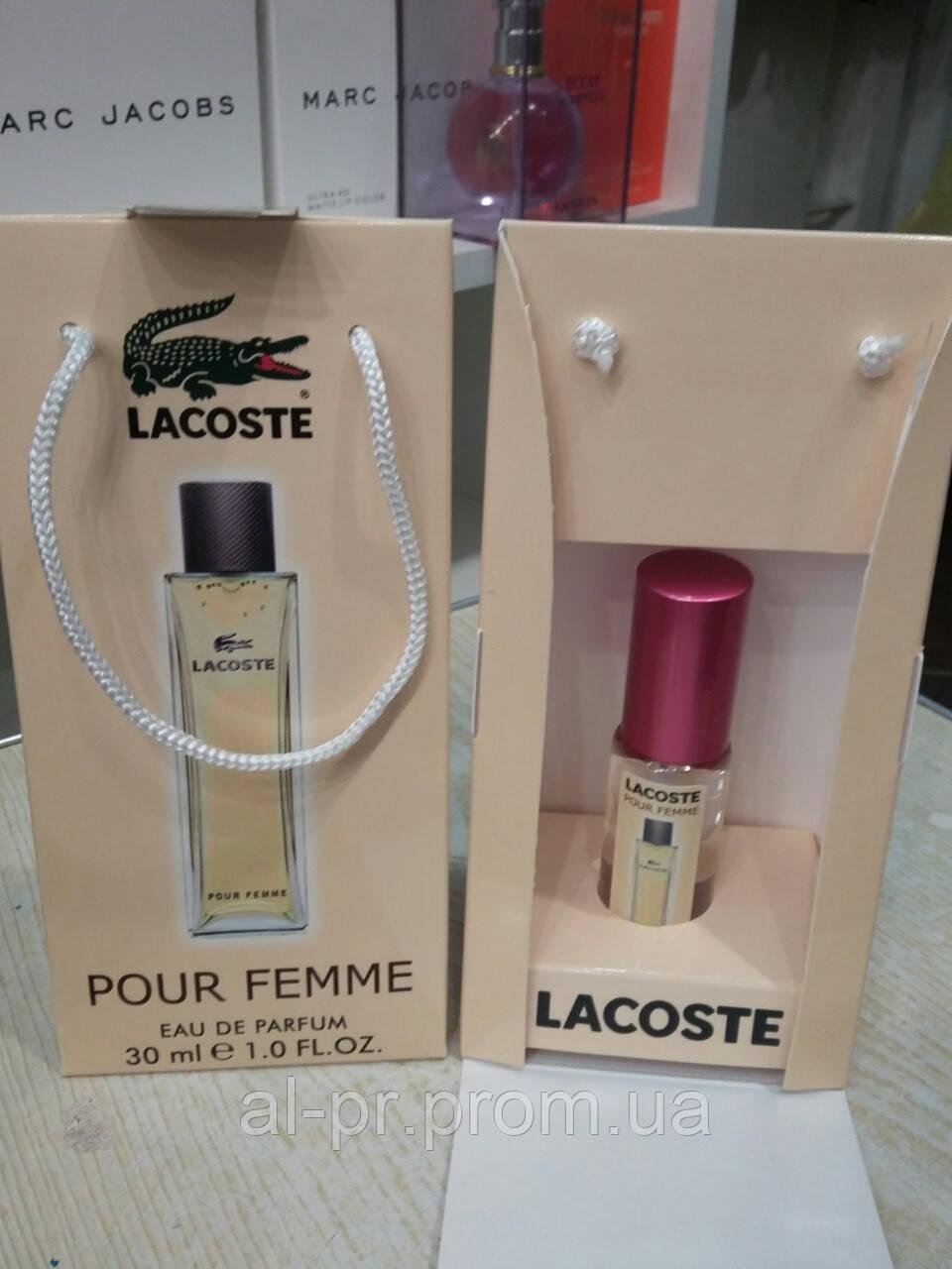 Подарочный набор парфюмерии Lacoste Pour Femme