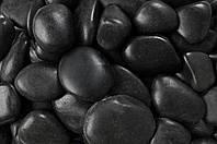 Мраморная галька черная 60-100 мм