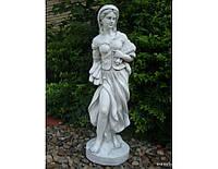 Садовая фигура из стекло-фиброцемента Богиня осени 26х24х82 см