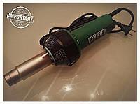 Профессиональный сварочный фен для ПВХ-мембраны с насадкой 40мм. HERZ