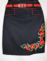 Юбочка с вышивкой для девочки-подростка 190
